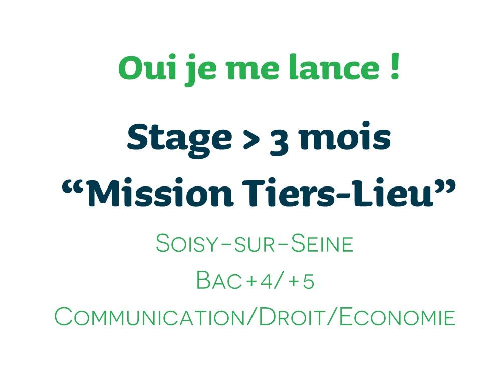 Offre de stage – Mission Tiers-Lieu