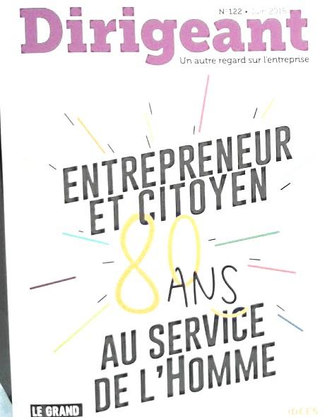 Clémentine PARÂTRE, le Lab Pareto à l'honneur dans la revue Dirigeant