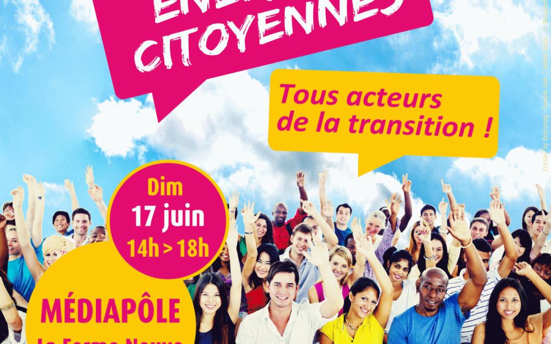 Energies Citoyennes – Evenement le 17 Juin à Grigny