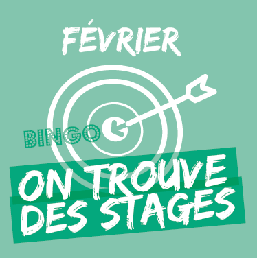 Février : on trouve son stage