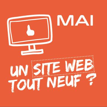 Mai : Un site web tout neuf ?