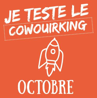 Octobre : Vive le coworking !