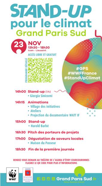 Stand Up Climat Lieusaint