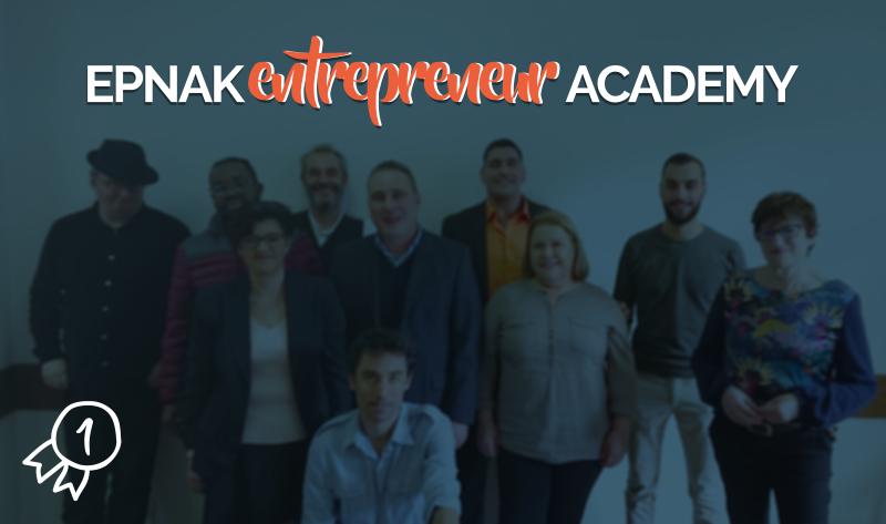 1ère promotion EPNAK Entrepreneurs